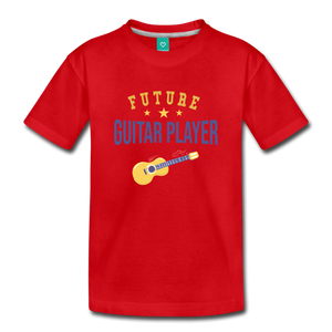 Toddler Guitar Player T-Shirt - red