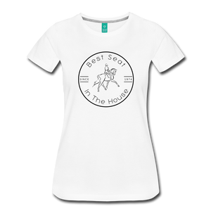 Women's Best Seat in the House T-Shirt - white