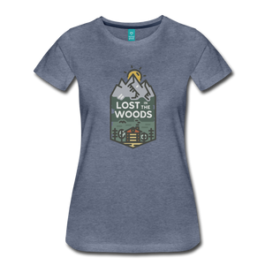 Women's Lost T-Shirt - heather blue