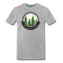 Load image into Gallery viewer, Men's Its the Wood T-Shirt - heather gray