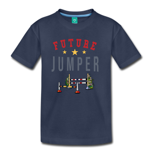 Kids' Future Jumper T-Shirt - navy