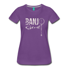 Load image into Gallery viewer, Women's Banjo Girl T-Shirt - purple