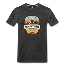 Load image into Gallery viewer, Men's Mountain's Calling T-Shirt - charcoal gray