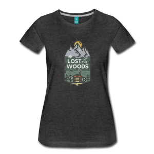 Women's Lost T-Shirt - charcoal gray