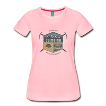 Load image into Gallery viewer, Women's Climbing T-Shirt - pink