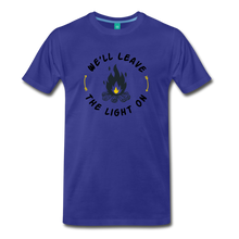 Load image into Gallery viewer, Men's We'll Leave the Light On T-Shirt - royal blue