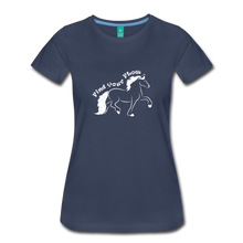 Load image into Gallery viewer, Women's Find Your Flow T-Shirt - navy