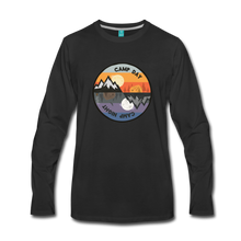 Load image into Gallery viewer, Men's Camp Day Long Sleeve Shirt - black