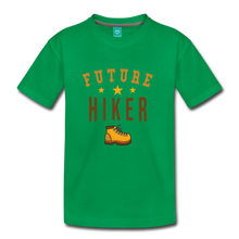 Load image into Gallery viewer, Kids' Future Hiker T-Shirt - kelly green