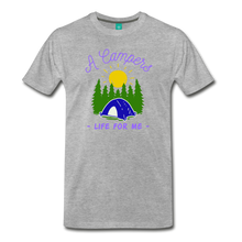 Load image into Gallery viewer, Men's Campers Life T-Shirt - heather gray