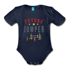 Load image into Gallery viewer, Future Jumper Baby Bodysuit - dark navy