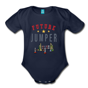Future Jumper Baby Bodysuit - dark navy