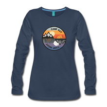 Load image into Gallery viewer, Women's Camp Day Long Sleeve Shirt - navy