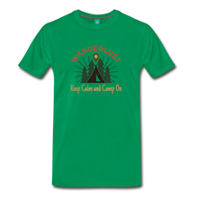 Load image into Gallery viewer, Men's Keep Calm, Camp On - kelly green