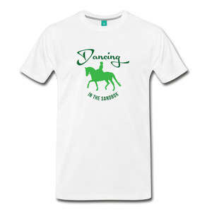 Men's Dancing in the Sandbox T-Shirt - white