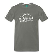 Load image into Gallery viewer, Men's Wanderlust T-Shirt (white) - asphalt