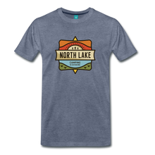 Load image into Gallery viewer, Men's North Lake T-Shirt - heather blue