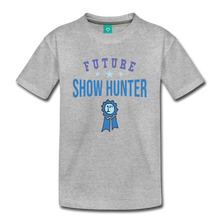 Load image into Gallery viewer, Kids' Future Show Hunter T-Shirt - heather gray
