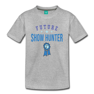 Kids' Future Show Hunter T-Shirt - heather gray