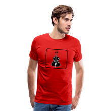 Load image into Gallery viewer, Men's Upright Bass  Icon T-Shirt - red