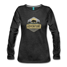 Load image into Gallery viewer, Women's Adventure Life Long Sleeve Shirt - charcoal gray