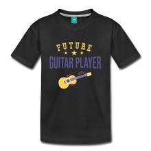 Load image into Gallery viewer, Kids' Guitar Player T-Shirt - black