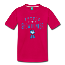 Load image into Gallery viewer, Kids' Future Show Hunter T-Shirt - dark pink