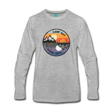 Load image into Gallery viewer, Men's Camp Day Long Sleeve Shirt - heather gray