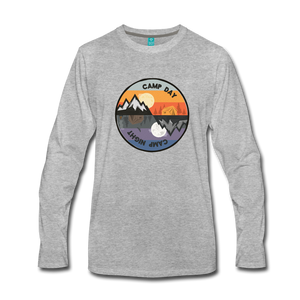 Men's Camp Day Long Sleeve Shirt - heather gray