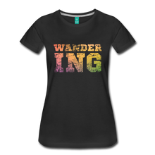 Load image into Gallery viewer, Women's Wandering T-Shirt - black