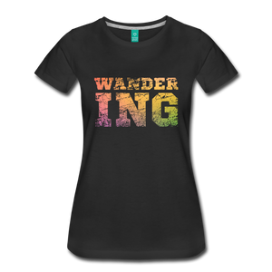 Women's Wandering T-Shirt - black