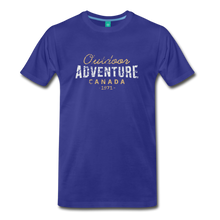 Load image into Gallery viewer, Men's Outdoor Adventure Canada T-Shirt - royal blue