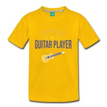 Load image into Gallery viewer, Kids' Guitar Player T-Shirt - sun yellow