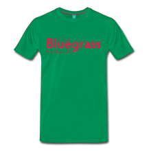 Load image into Gallery viewer, Men's Bluegrass Kinda Life T-Shirt - kelly green
