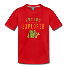 Load image into Gallery viewer, Kids' Future Explorer T-Shirt - red