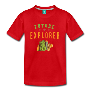 Kids' Future Explorer T-Shirt - red
