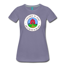 Load image into Gallery viewer, Women's Followed my Heart (colored) T-Shirt - washed violet