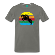 Load image into Gallery viewer, Men's Jumping Sun T-Shirt - asphalt