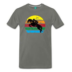 Men's Jumping Sun T-Shirt - asphalt