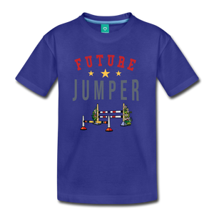 Kids' Future Jumper T-Shirt - royal blue
