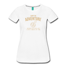 Load image into Gallery viewer, Women's Enjoy the Adventure T-Shirt - white