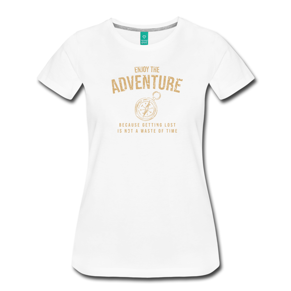 Women's Enjoy the Adventure T-Shirt - white