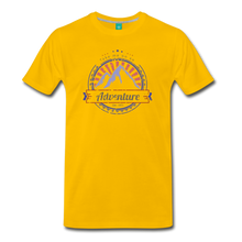 Load image into Gallery viewer, Men's Take me on an Adventure T-Shirt - sun yellow