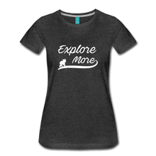 Load image into Gallery viewer, Women's Explore More T-Shirt - charcoal gray