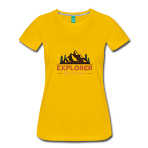 Women's Explorer - sun yellow