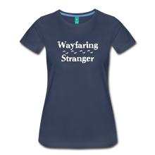 Load image into Gallery viewer, Women's Wayfaring Stranger T-Shirt - navy