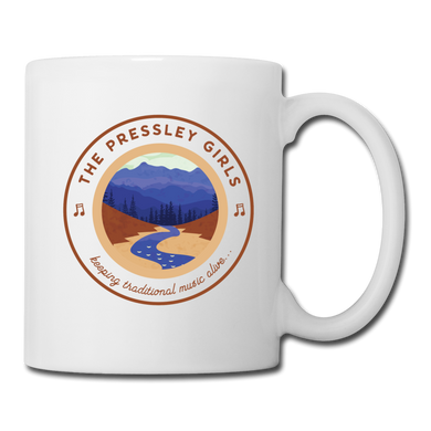 The Pressley Girls Coffee/Tea Mug - white