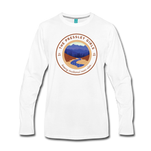 Load image into Gallery viewer, Men's The Pressley Girls Long Sleeve T-Shirt - white
