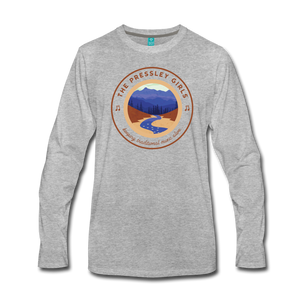Men's The Pressley Girls Long Sleeve T-Shirt - heather gray