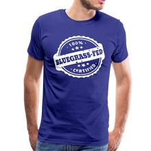 Load image into Gallery viewer, Men's Bluegrass-Fed T-Shirt - royal blue